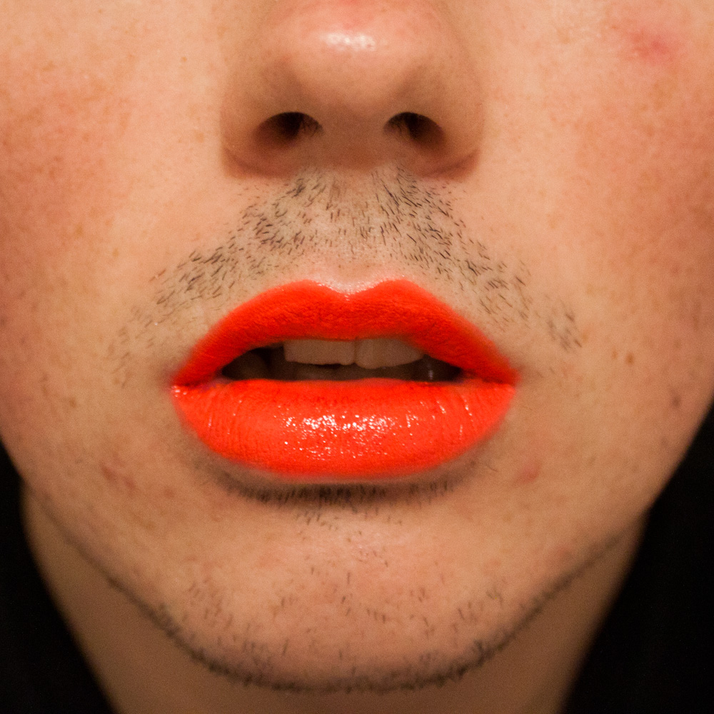 mac amplified neon orange | Lifestyles of The Richard Famous